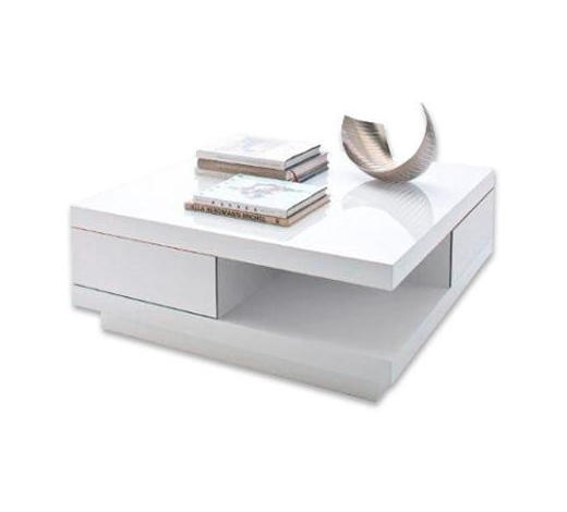 COUCHTISCH quadratisch Weiß  - Weiß, Design (85/85/30cm) - Xora