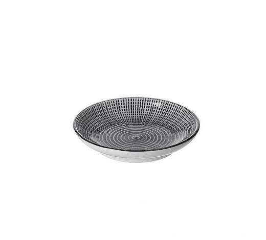 SCHALE 10 cm - Schwarz/Weiß, Trend, Keramik (10cm) - Ritzenhoff Breker