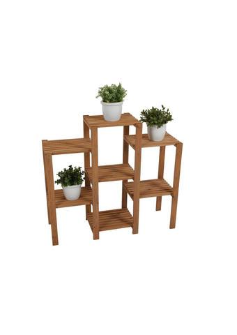 GARTENREGAL Holz - Braun, Basics, Holz (30,5/14/89cm)