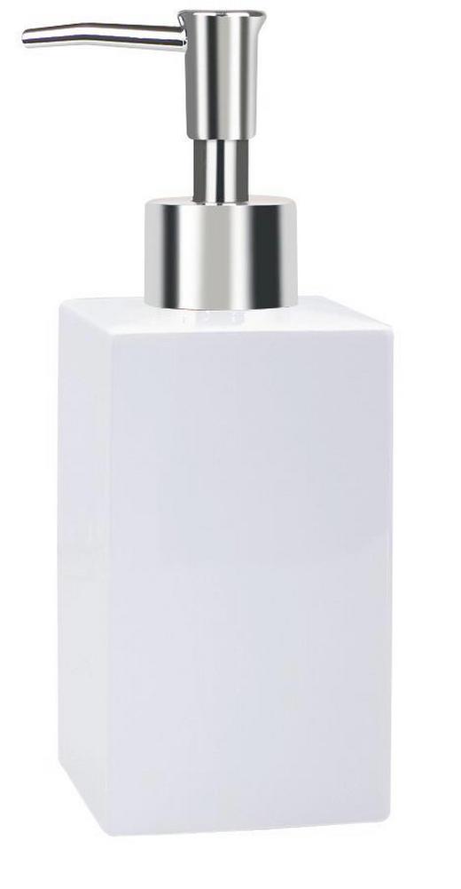 SEIFENSPENDER - Weiß, Basics (6,5/6,5/16,5cm) - SPIRELLA