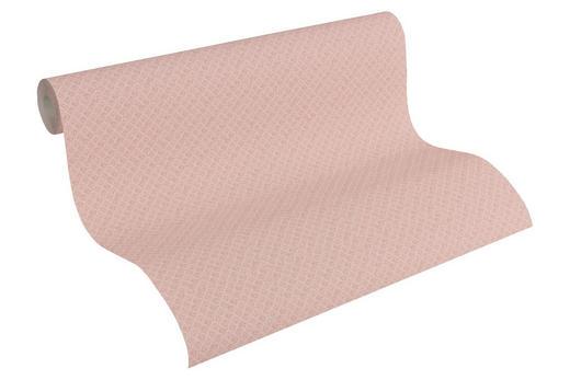VLIESTAPETE 10,05 m - Rot/Rosa, Design, Textil (53/1005cm)