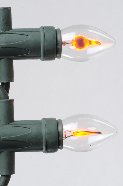 LICHTERKETTE - Transparent/Grün, Basics, Kunststoff/Metall (550cm)