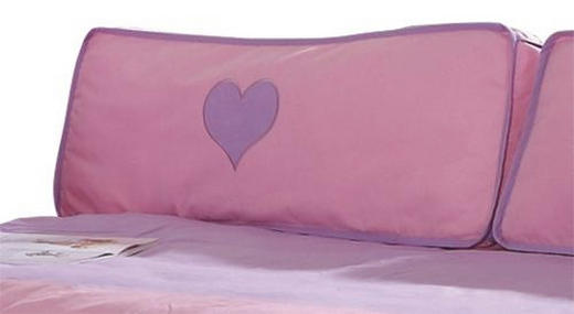 KINDERKISSEN - Flieder/Rosa, Design, Textil
