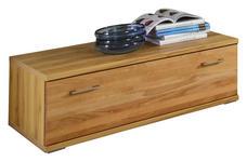 LOWBOARD 120/37,7/55,5 cm - Silberfarben/Buchefarben, Basics, Holz/Holzwerkstoff (120/37,7/55,5cm) - Cantus