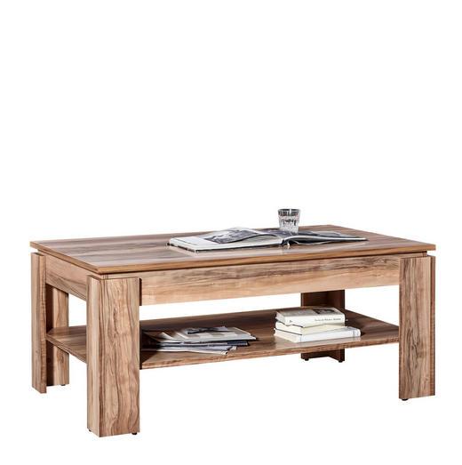COUCHTISCH rechteckig Nussbaumfarben - Nussbaumfarben, Design, Holzwerkstoff (110/47/65cm) - CARRYHOME
