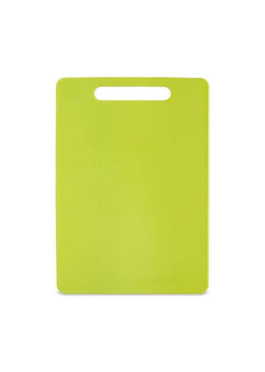 SCHNEIDEBRETT - Grün, Basics, Kunststoff (34/24/0,6cm) - Homeware