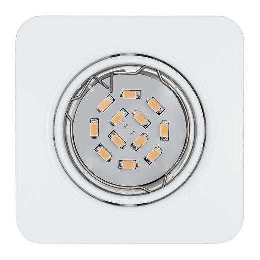 EINBAULEUCHTE - Weiß, Design, Metall (8,7/8,7cm)