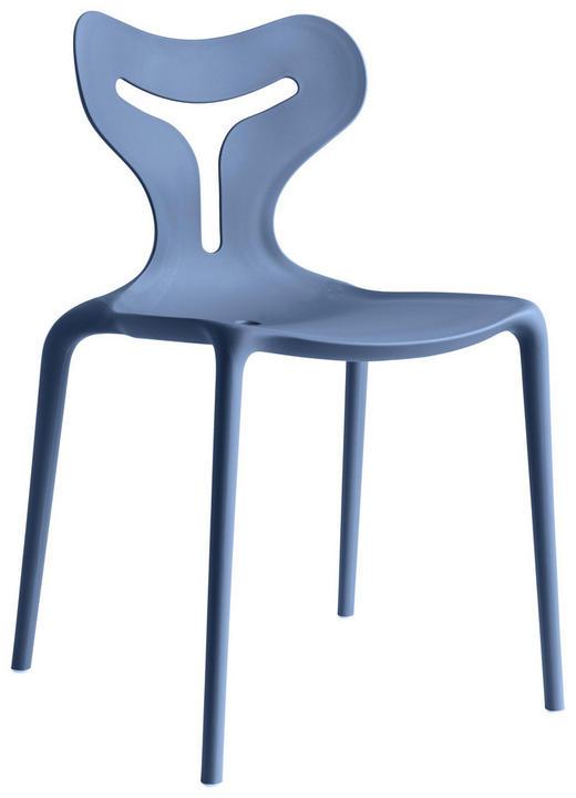 STUHL in Kunststoff Hellblau - Hellblau, Trend, Kunststoff (50,5/80/50cm)