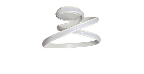 LED-DECKENLEUCHTE - Opal, KONVENTIONELL, Kunststoff/Metall (44/23cm) - Ambiente