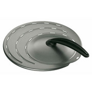 SPRITZSCHUTZ 42/30/6 cm - Grau, Basics, Metall (42/30/6cm) - SILIT
