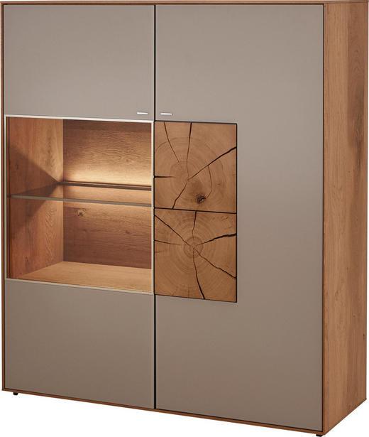 HIGHBOARD - Fango, Design, Glas/Holz (117/138/39cm) - Valnatura