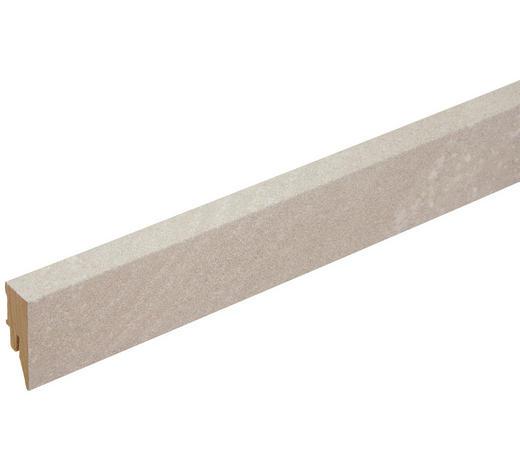 SOCKELLEISTE Grau - Grau, Basics, Holzwerkstoff (200/5/1,8cm) - Venda