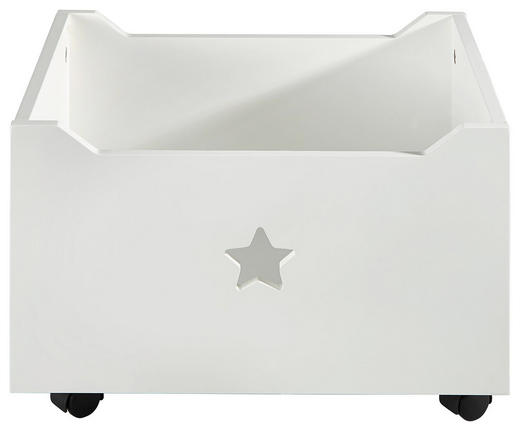 AUFBEWAHRUNGSBOX - Weiß, Basics, Holz (40/34/27cm) - My Baby Lou