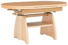 COUCHTISCH in Holz 110(130,5/65/56-75 cm - Ahornfarben, KONVENTIONELL, Holz (110(130,5/65/56-75cm) - Venda