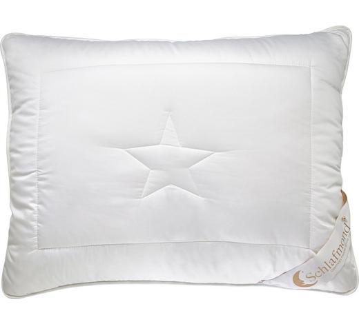 POLŠTÁŘ, 70/90 cm - bílá, Basics, textil (70/90cm) - Schlafmond