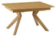 ESSTISCH Wildeiche furniert rechteckig Eichefarben  - Eichefarben, Design, Holz (130/90/76cm) - Venda