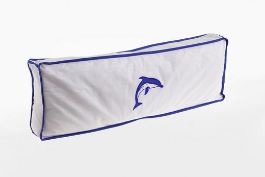 KINDERKISSEN - Blau/Weiß, Design, Textil