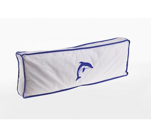 KINDERKISSEN  - Blau/Weiß, Design, Textil (88/11/30cm)