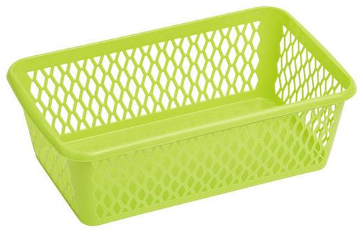 KOŠARA - zelena, Konvencionalno, plastika (15/8/15,5cm) - Plast 1