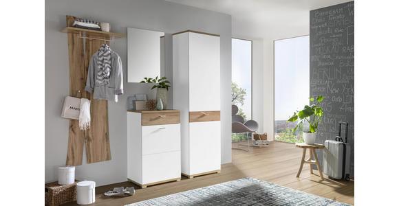 GARDEROBENPANEEL 69/180/30 cm  - Eichefarben, Design, Holzwerkstoff (69/180/30cm) - Carryhome