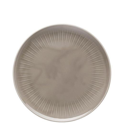 SPEISETELLER Porzellan - Grau, Basics (27cm)