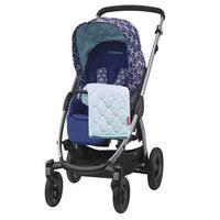 Stella  Kinderwagen  Blau, Weiß  - Blau/Silberfarben, MODERN, Kunststoff/Textil (55/107,5/93,5cm) - Maxi-Cosi