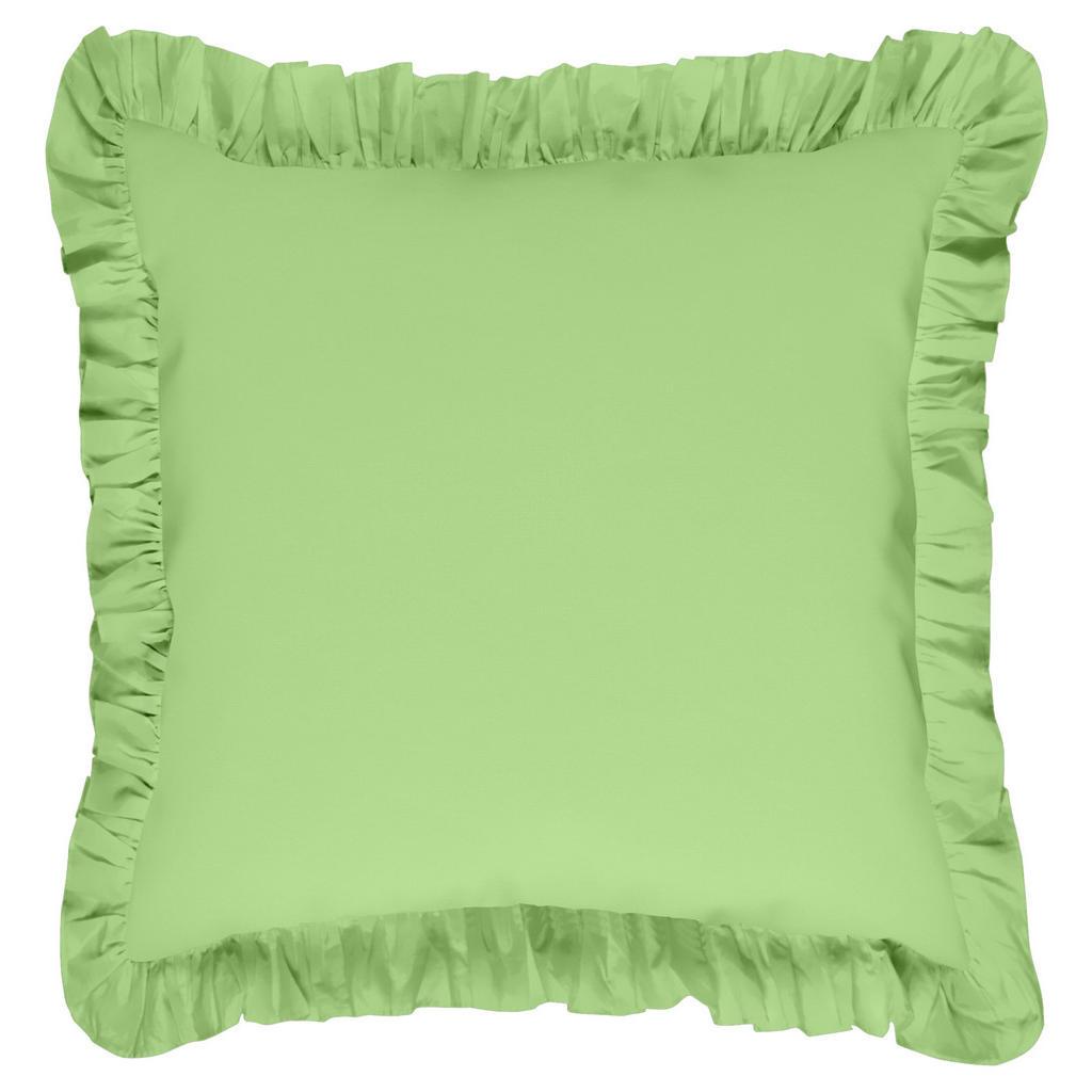 Bio:Vio Kissenhülle grün 40/40 cm