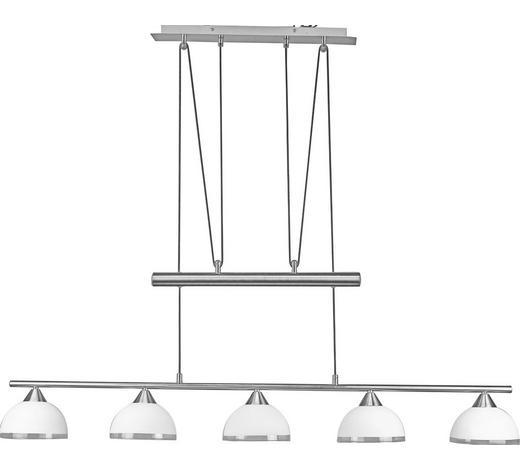 ZÁVĚSNÉ SVÍTIDLO - Konvenční, kov/sklo (118,5/15,5/75-195cm)