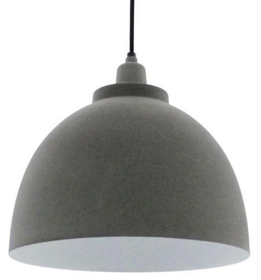HÄNGELEUCHTE - Weiß/Grau, LIFESTYLE, Metall (30/120cm)