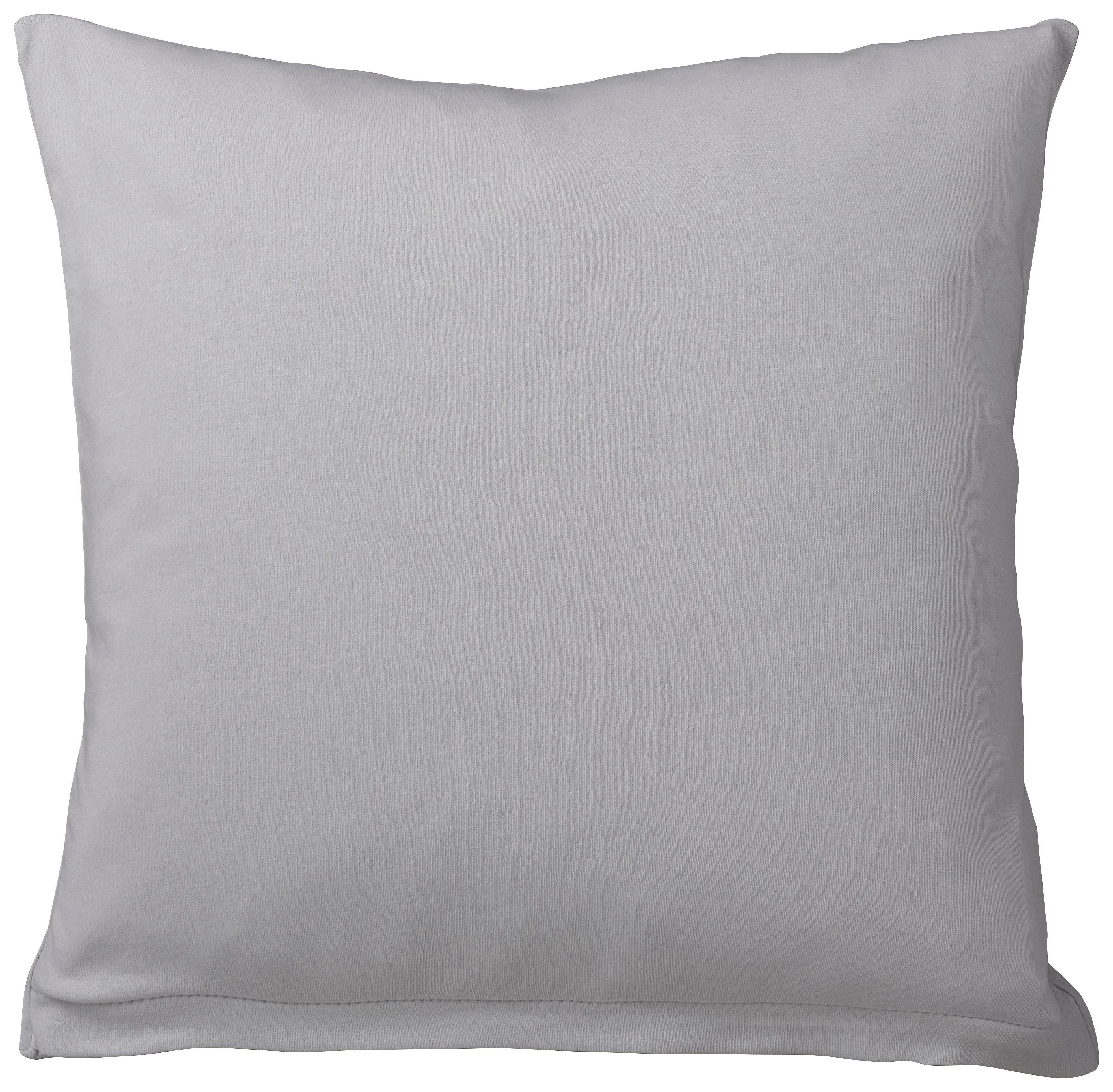 KISSENHÜLLE Hellgrau 80/80 cm - Hellgrau, Basics, Textil (80/80cm) - SCHLAFGUT