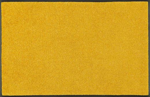 FUßMATTE 60/90 cm Uni Honig - Honig, Basics, Kunststoff/Textil (60/90cm) - Esposa