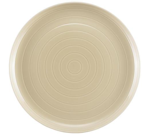 TALÍŘ JÍDELNÍ, porcelán - béžová, Design, keramika (27cm) - Novel