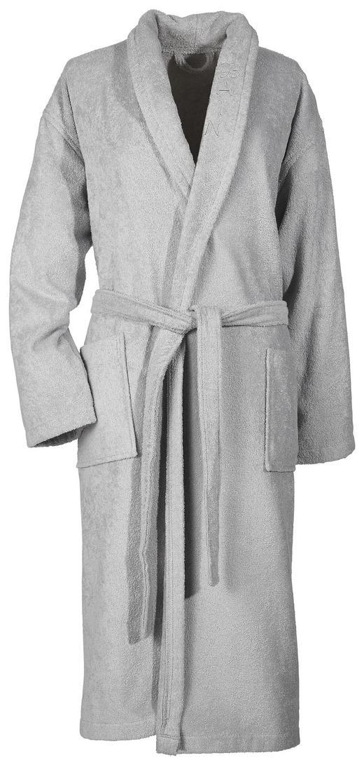 BADEMANTEL  Grau - Grau, KONVENTIONELL, Textil (L) - Esposa