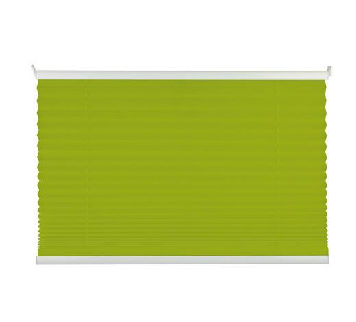 PLISSEE  halbtransparent   100/130 cm - Grün, Basics, Textil (100/130cm) - Homeware