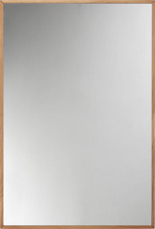 SPIEGEL Eiche - Eichefarben, Design, Glas/Holz (60/90/2,2cm) - Valnatura