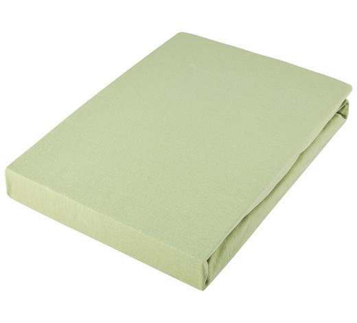 PROSTĚRADLO NAPÍNACÍ, žerzej, 150/200 cm - světle zelená, Basics, textil (150/200cm) - Novel