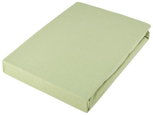 SPANNLEINTUCH 180/200 cm - Hellgrün, Basics, Textil (180/200cm) - Novel