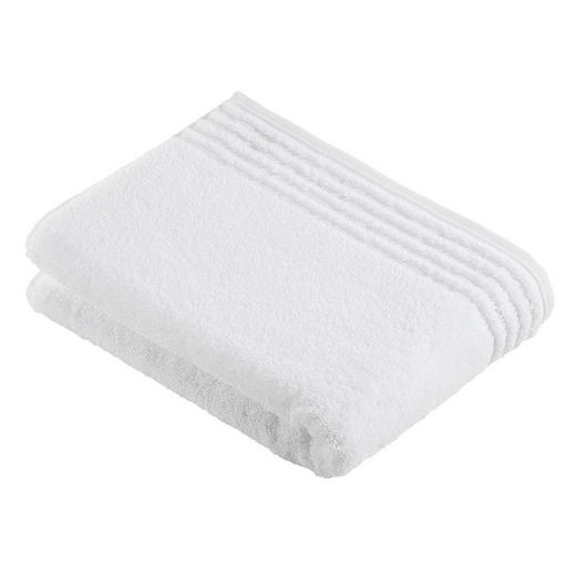 BADETUCH 80/160 cm - Weiß, Basics, Textil (80/160cm) - VOSSEN
