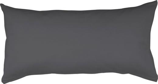 KOPFKISSENBEZUG Titanfarben 40/80 cm - Titanfarben, Basics, Textil (40/80cm) - Schlafgut