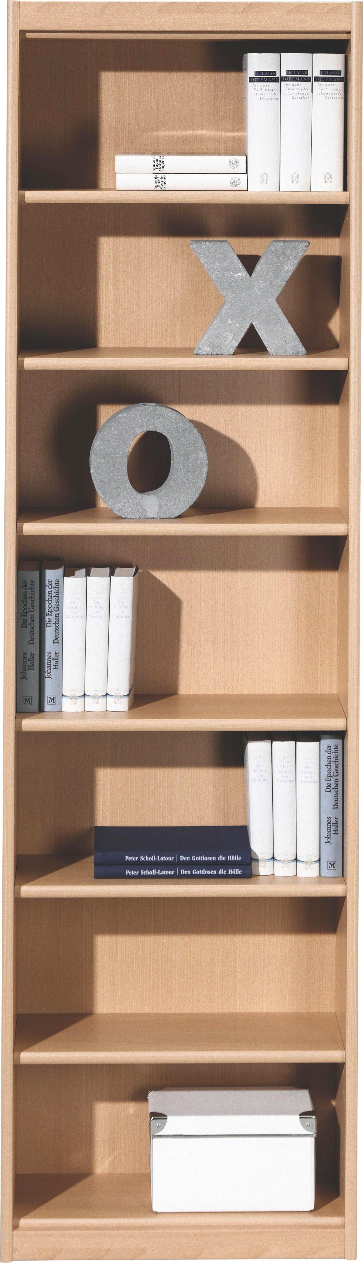 REGAL in 55/194/26 cm Buchefarben - Buchefarben, KONVENTIONELL, Holzwerkstoff (55/194/26cm) - CS SCHMAL
