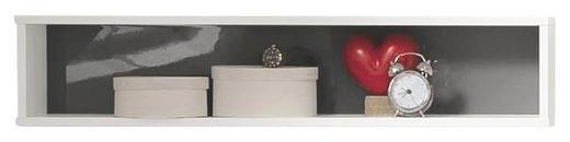 HÄNGEELEMENT Grau, Weiß - Weiß/Grau, Design (100/20,7/17,7cm) - Welnova