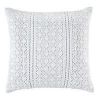 SOFAKISSEN 40/40 cm - Weiß, LIFESTYLE, Textil (40/40cm)