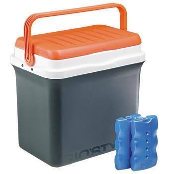 KÜHLBOX - Orange/Weiß, Basics, Kunststoff (41/40/27,5cm)