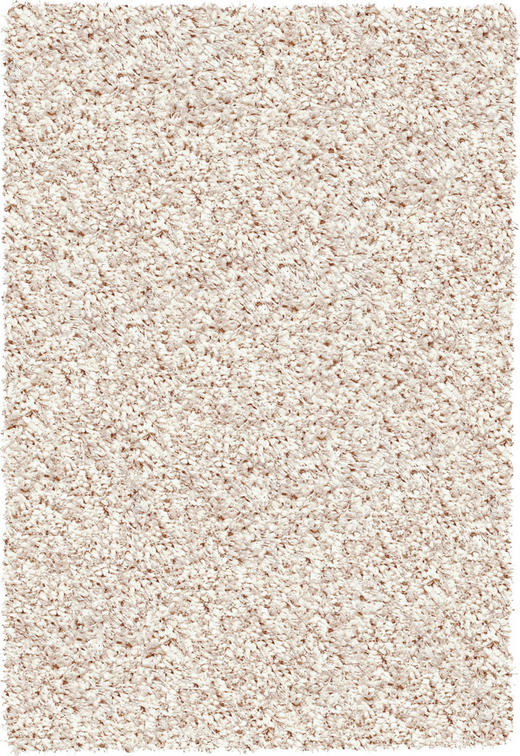 HOCHFLORTEPPICH  65/130 cm  gewebt  Creme - Creme, Basics, Textil (65/130cm) - Novel