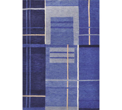 KOBEREC ORIENTÁLNÍ, 90/160 cm, modrá - modrá, Konvenční, textil (90/160cm) - Esposa