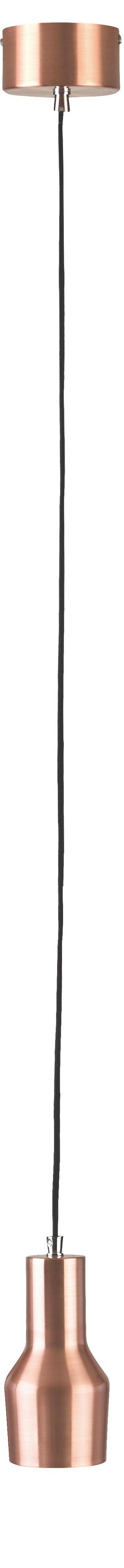 HÄNGELEUCHTE - Kupferfarben, KONVENTIONELL, Metall (125/9/17cm)