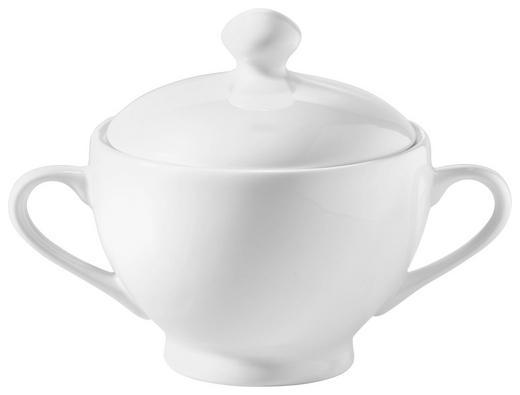 ZUCKERDOSE Keramik - Weiß, Basics, Keramik (10,5/12cm) - Novel