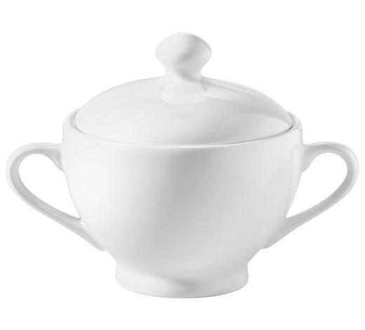 ZUCKERDOSE - Weiß, Basics, Keramik (10,5/12cm) - Novel