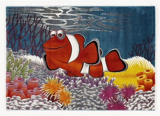 KINDERTEPPICH  80/150 cm  Multicolor - Multicolor, Basics, Textil (80/150cm) - Ben'n'jen