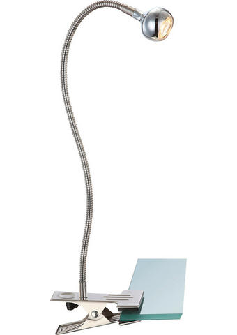 LAMPA SE SVORKOU - barvy niklu, Basics, kov/umělá hmota (28/10/48cm)